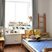 简约风格儿童房飘窗装修