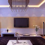 现代时尚电视背景墙装饰