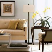 美式简约风格家居客厅灯饰设计