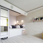 北欧白色优雅型厨房设计