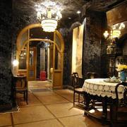 东南亚风格会所室内灯饰设计