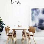 简约实木型小餐桌设计