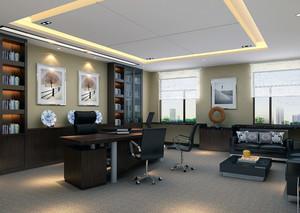 办公室设计装修效果图