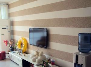 现代简约风格暗色背景墙装饰