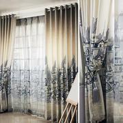 客厅窗帘装修色调搭配