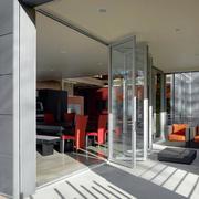 餐厅阳台折叠门设计