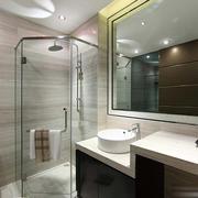 清新淡雅型卫生间设计