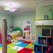 儿童房设计装修吊灯图