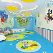 幼儿园壁画装修色调搭配