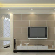 现代简约风格硅藻泥材料墙饰