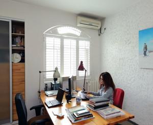 精致简约小户型小书房装修效果图