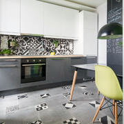 简欧果绿色小餐厅设计