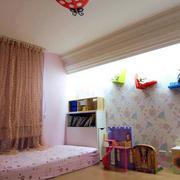 儿童房背景墙装修