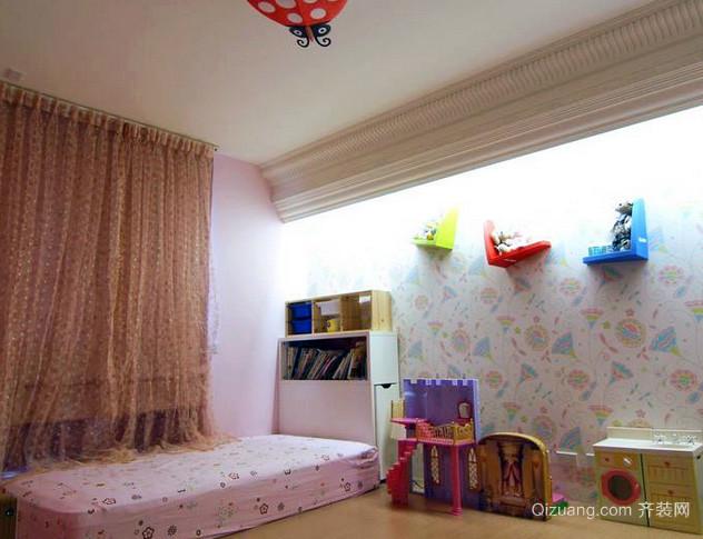 简约混搭风格儿童房装修效果图设计