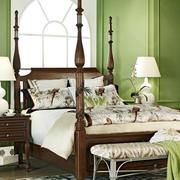 美式家居精美床饰装修