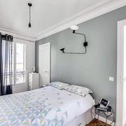 白色卧室软装设计