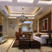 欧式奢华别墅客厅设计