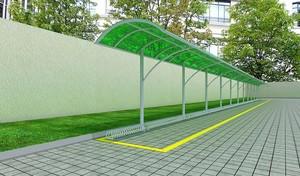 自行车停车场雨棚