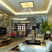 欧式奢华电视背景墙装饰