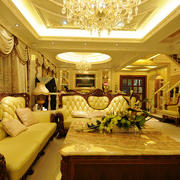 欧式奢华大型飘窗装饰