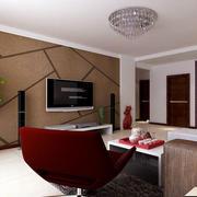 公寓可以电视背景墙装饰