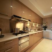 厨房咖啡色橱柜门板