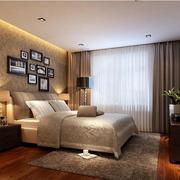 优雅的卧室窗帘
