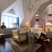 欧式风格儿童房墙饰装饰
