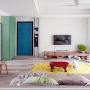 彩色小清新混搭家装设计