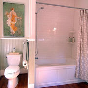 唯美风格厕所设计图片
