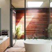 别墅阳光浴室玻璃隔断