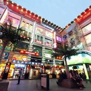 商场夜景效果图片