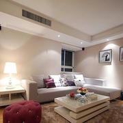 120平米客厅装修图片