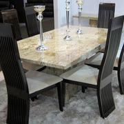 欧式简约石制餐桌装饰