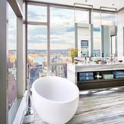 简约风格高层浴室设计