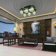 中式室内装修设计吊顶图