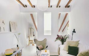 简约白色小阁楼经典设计