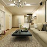 简约风格客厅地板装修设计
