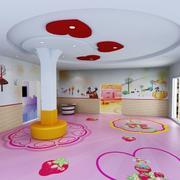 粉色浪漫的教室装饰