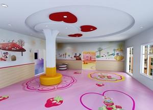 活力四射的彩色幼儿园教室布置效果图