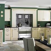 清新厨房背景墙