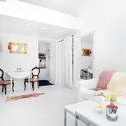 简欧清新式客厅设计