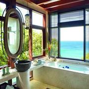 别墅大型浴室效果图
