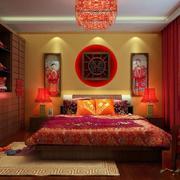 传统中式喜庆婚房