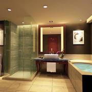 清新型厕所设计图片