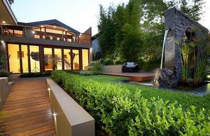 2015别墅庭院绿化装修效果图设计