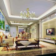 客厅吊顶设计整体图