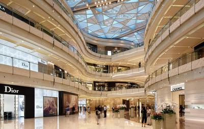 市中心豪华大型商场装修设计效果图