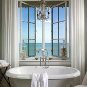 海景房浴室飘窗装饰