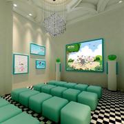 小清新教室沙发